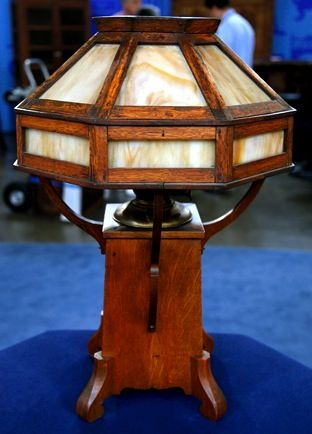 265aed79b303 Charles Limbert Signed Oil Lamp