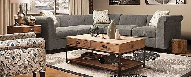 Corolla Contemporary Living Collection | Design Tips U0026 Ideas | Raymour And  Flanigan Furniture