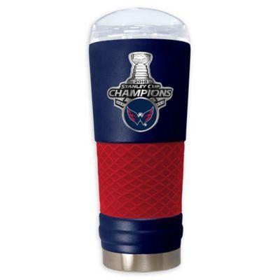 b455b8f0772 NHL Washington Capitals 2018 Stanley Cup Champions 24 oz. Powder Coated  Draft Tumbler Multi