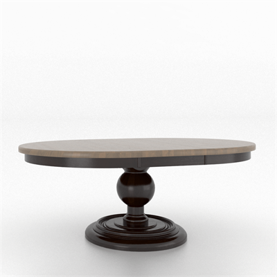 Canadel Table 6060 On Canadel Udesign Custom Dining Furniture Made Easy Table Round Table Top Dining Furniture