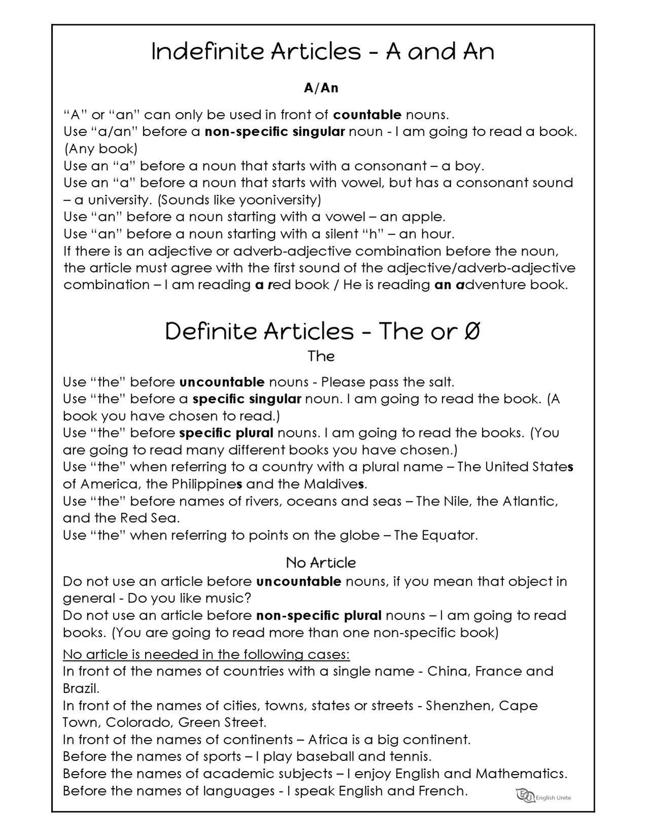 Basic Coordinating Conjunctions Worksheet