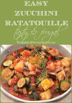 Easy Ratatouille With Zucchini images