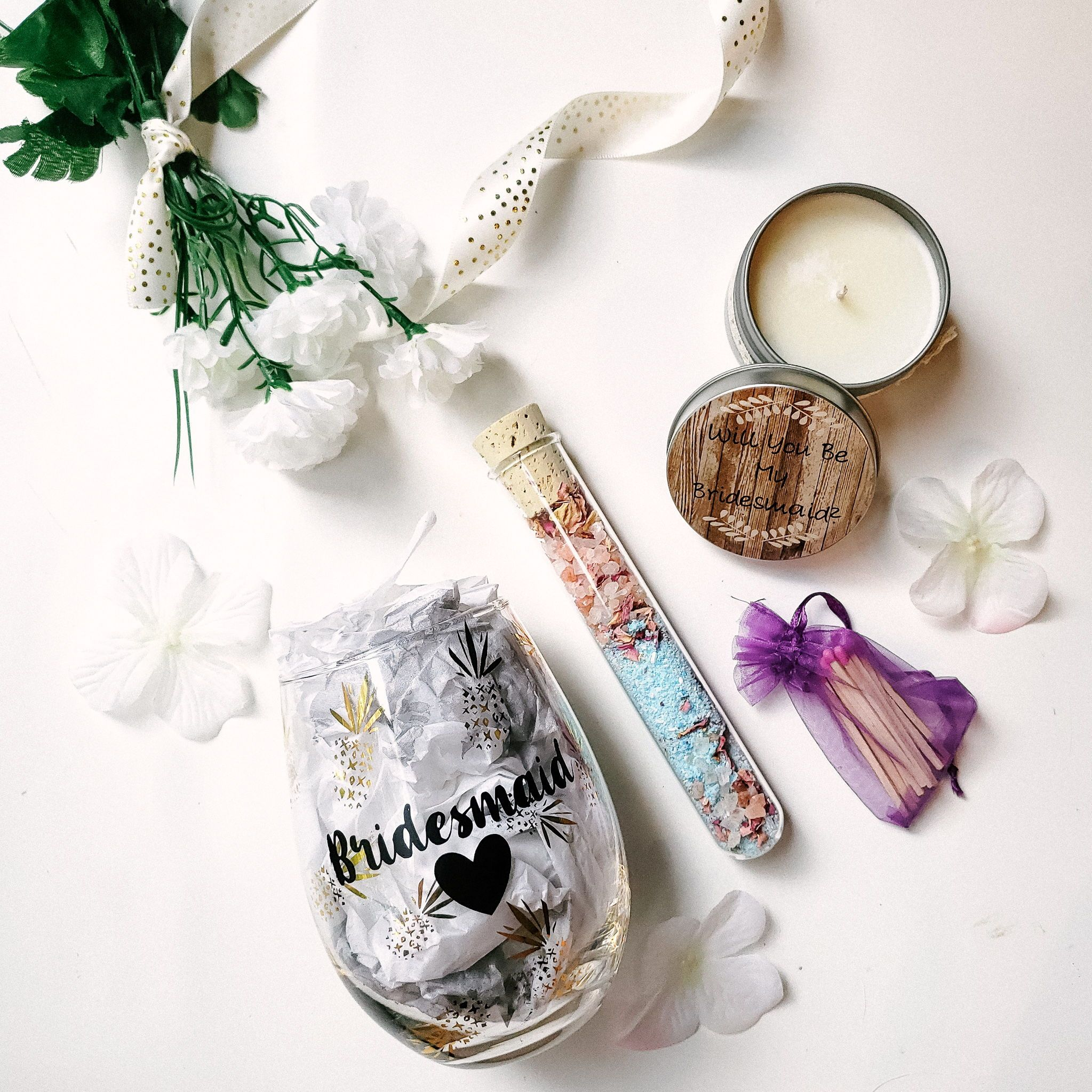Bridesmaid gift box bridesmaid gift boxes gifts for