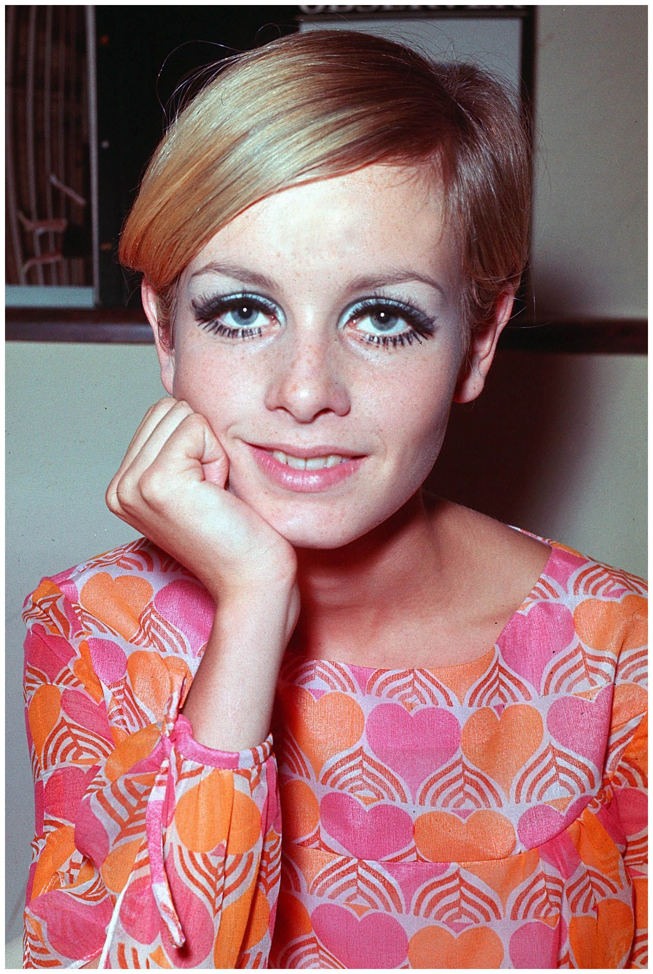 By fall of 1966 -- Twiggy was considered \'the face\' of the year ...