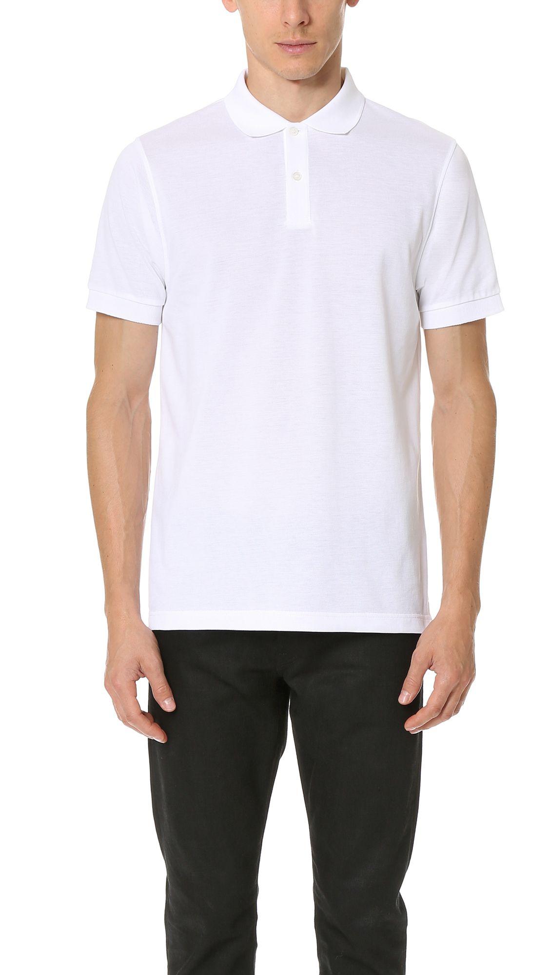 fcf64c82 Sunspel Short Sleeve Pique Polo Shirt. #sunspel #cloth #shirt ...