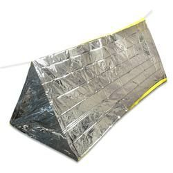 Emergency Shelter Tent 8x5u0027 Waterproof Compact Lightweight Silver Reflective Material Conserves Body Heat  sc 1 st  Pinterest & Emergency Shelter Tent 8x5u0027 Waterproof Compact Lightweight Silver ...
