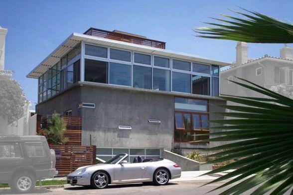 Modern Small Concrete House Design - Baltazar House | Houses