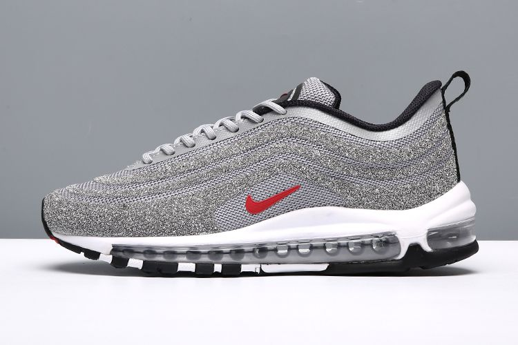 super popular 12579 a6b1b Nike Air Max 97 LXX OG Swarovski Silver Bullet Red Women Men