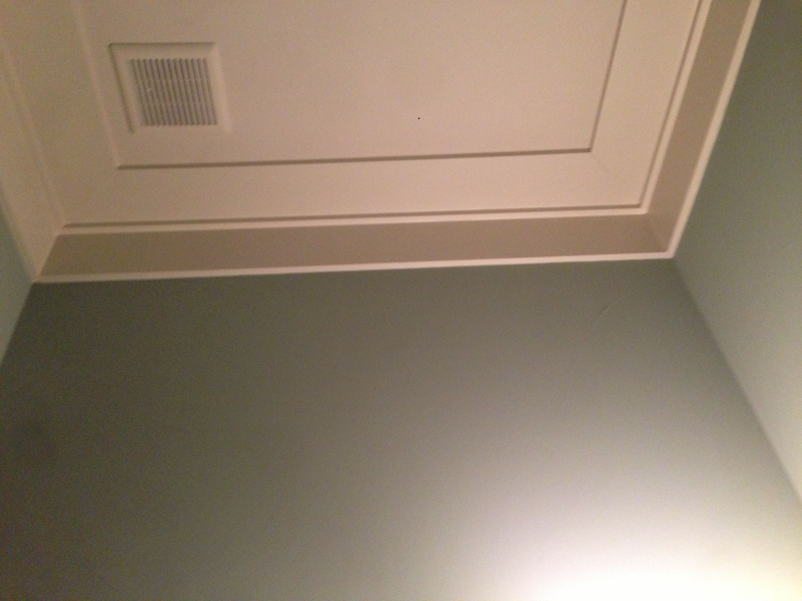 Ceiling trim makes celing look higher | ceilings ...