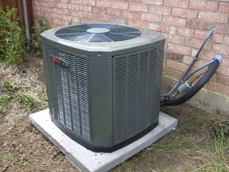 Vacuum Central Air Unit Blower Clean Air Conditioner Central Air Units Air Conditioning Installation