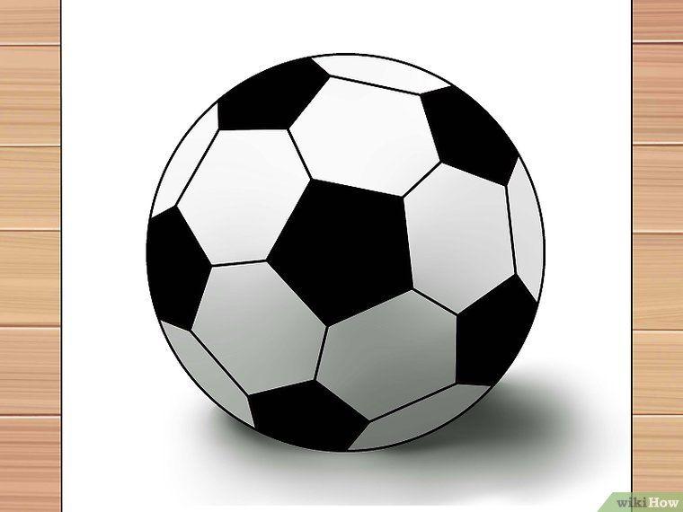 3 Formas De Dibujar Una Pelota De Futbol Soccer Ball Soccer Ball Theme Ball