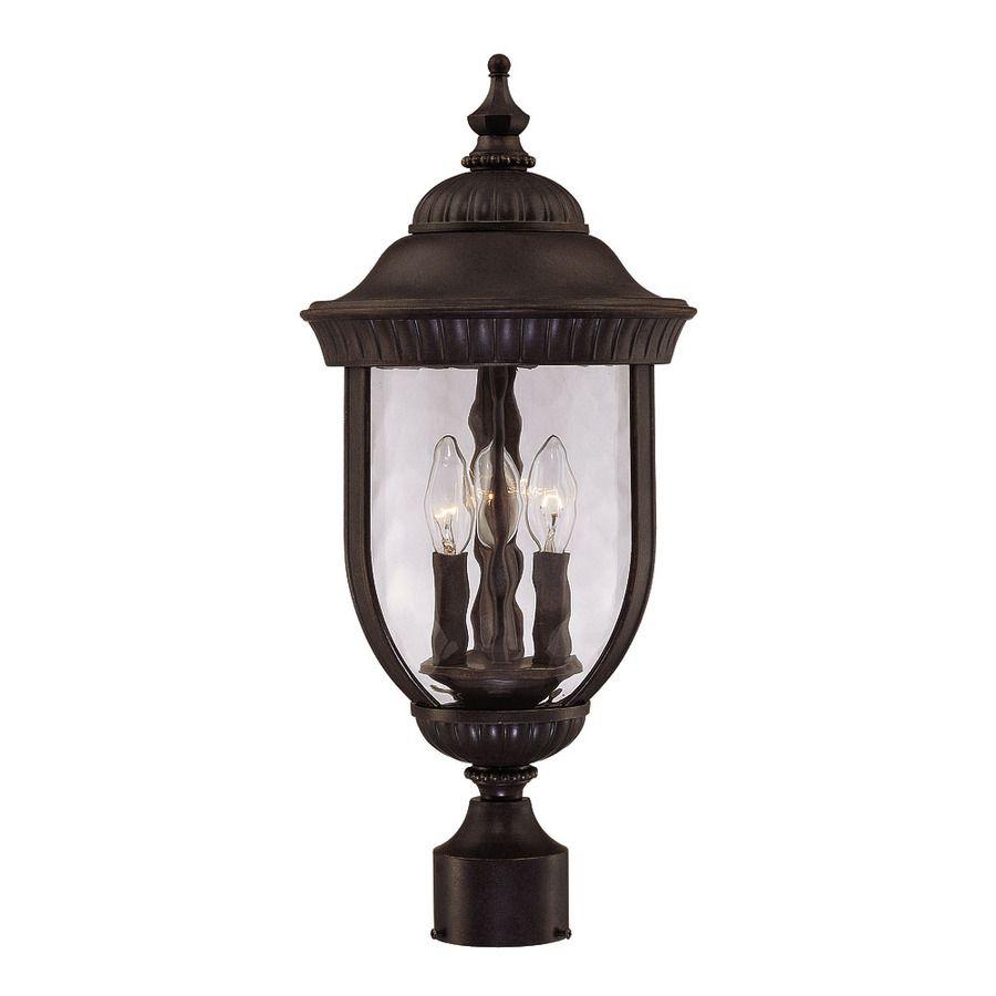 22 25 In H Walnut Patina Post Light 20201202 In 2020 Lantern Post Outdoor Post Lights Lamp Post Lights