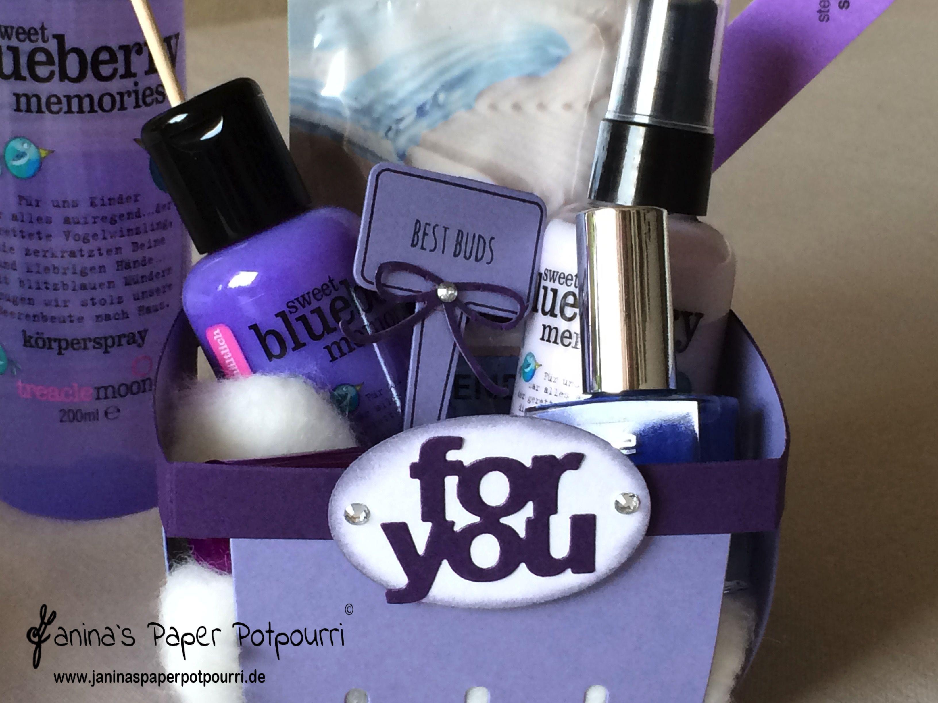 jpp - Beauty Berry Basket fürs Wellness Wochenende / Teenager ...