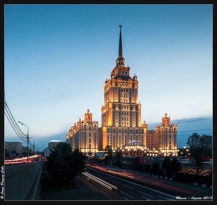 Moscu- Hotel Ukrania by Jorge Dieguez on 500px