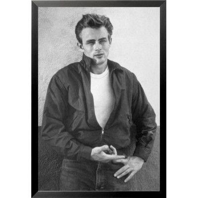 Buy Art For Less \'James Dean\' Framed Photographic Print   Buy art ...