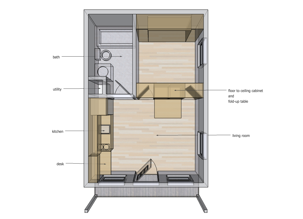 Tiny House Design Tiny House Design Tiny House Layout Small House Plans