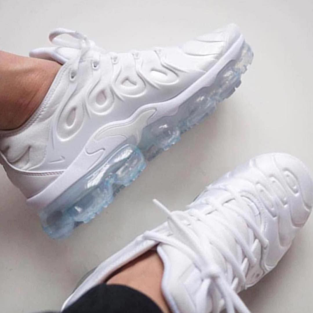 f9df849658b7 NIKE VAPORMAX PLUS WHITE Available now online at www.live-kickz.com Order  yours NOW before they sellout!!!  shoessneakers
