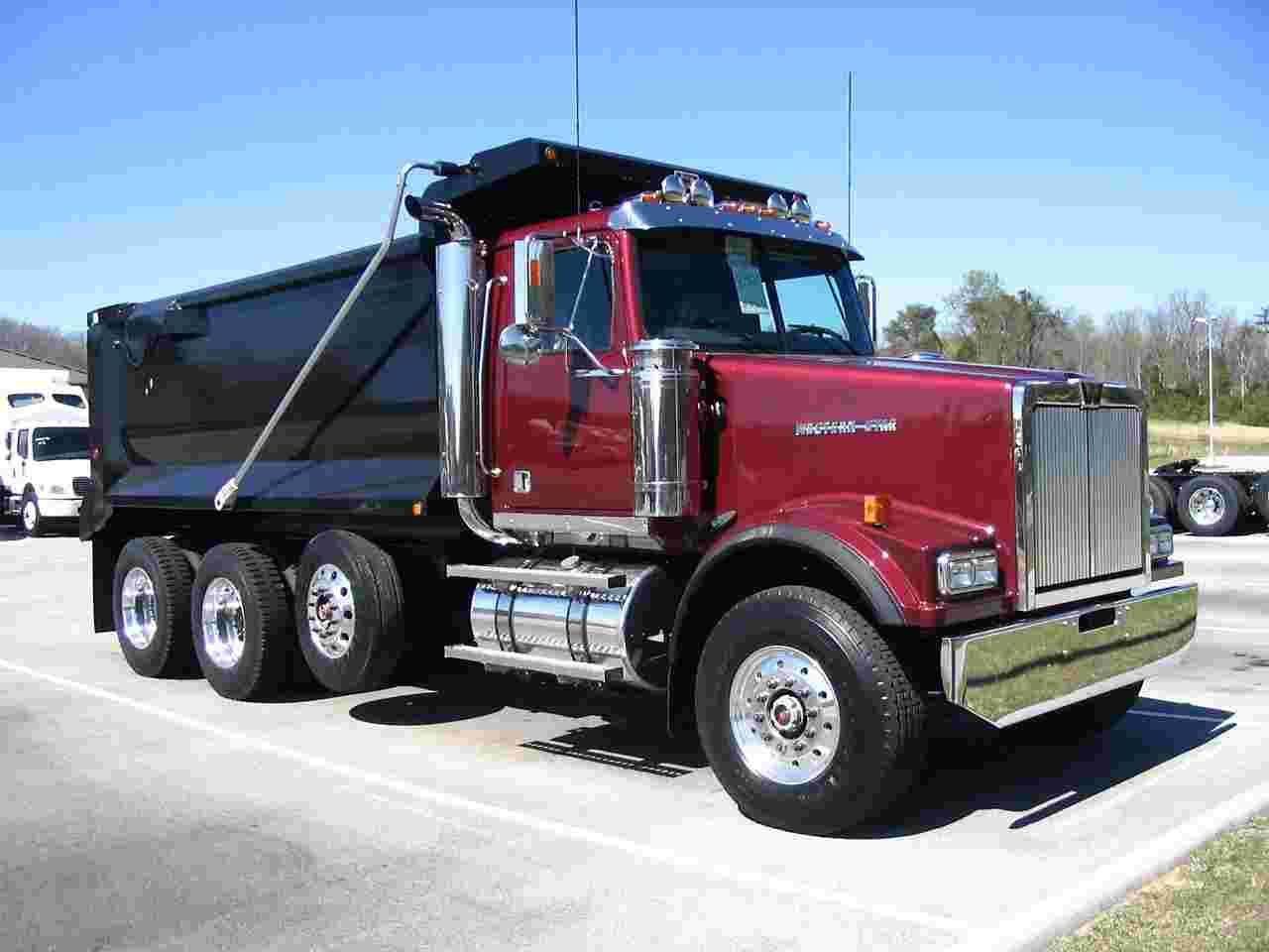 Western Star Trucks Western Star Dump Truck 09 Wallpaper
