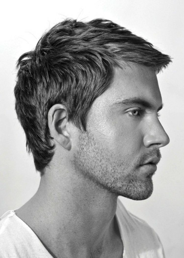 Coupe courte homme 50 idées modernes de coiffures Hair