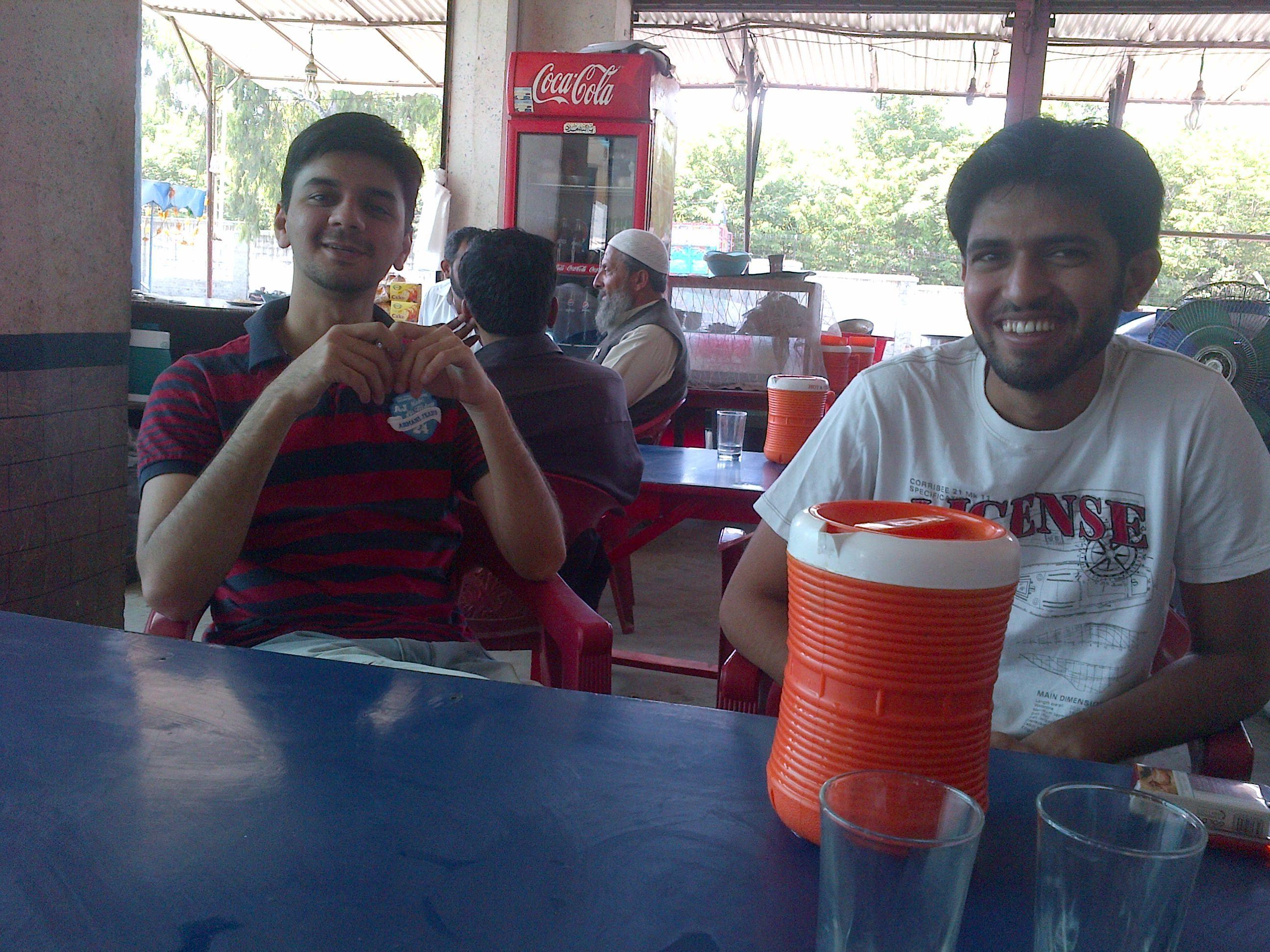 Breakfast: The old culprits; Kaboom and Rashid Minhas