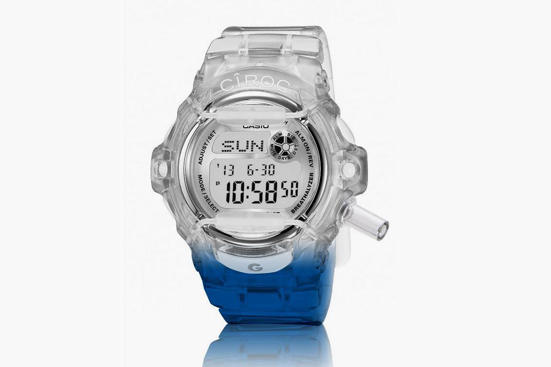 CIROC X G-Shock Breathalyzer Watch