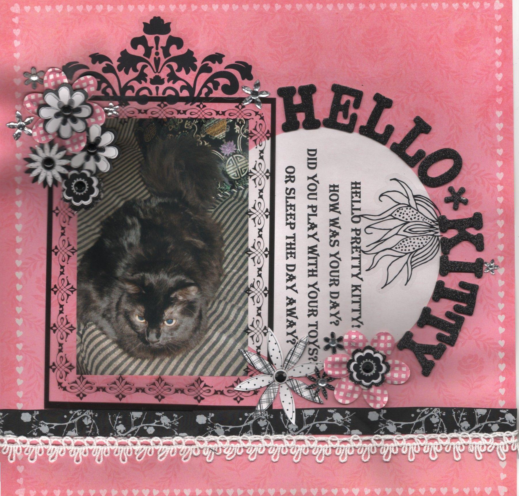 Scrapbook ideas hello kitty - Hello Kitty Scrapbook Com