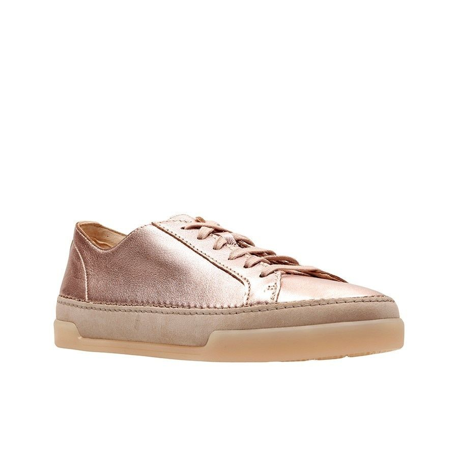 Clarks Hidi Holly Rose Gold Leather