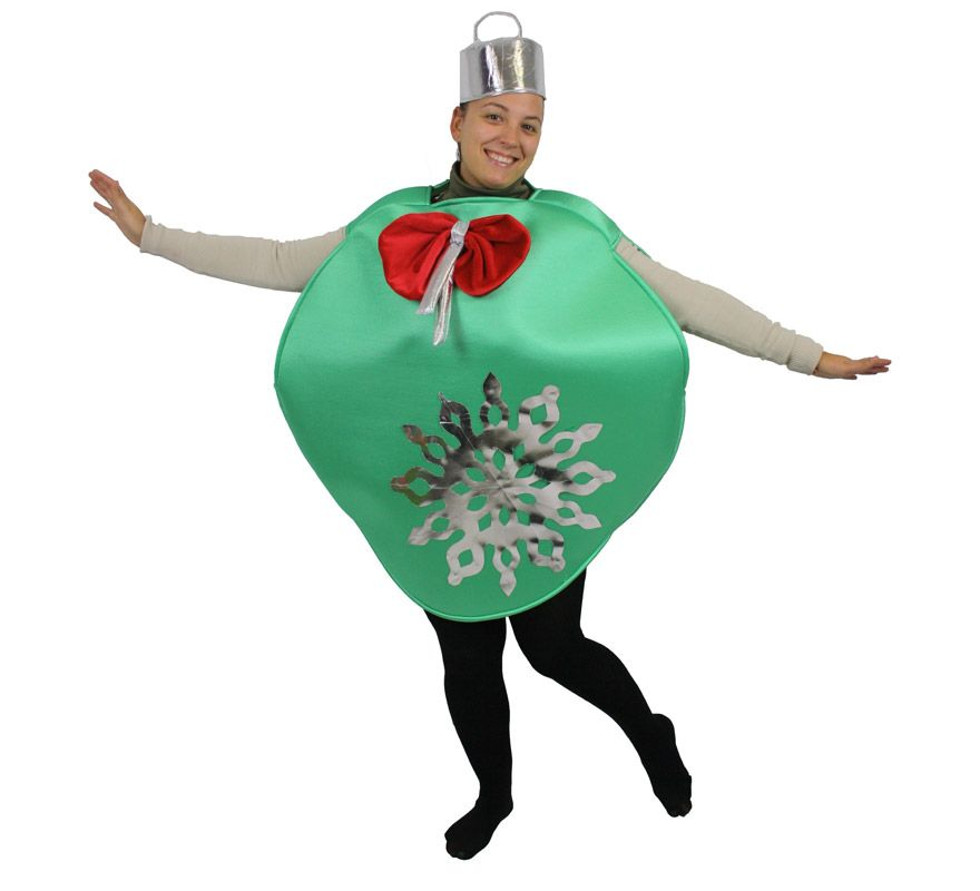 Disfraz de bola de rbol de navidad para adultos navidad - Disfraces infantiles navidenos ...