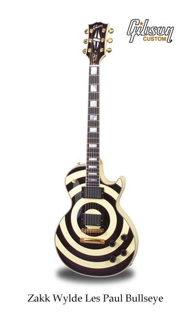 Zakk Wylde Les Paul Bullseye Guitar Famous Guitars Gibson Guitars