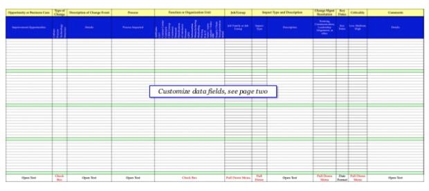 Impact Analysis Template Landing Page Love Pinterest Templates