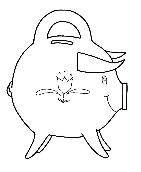 Pin On Piggy Bank Coloring Page