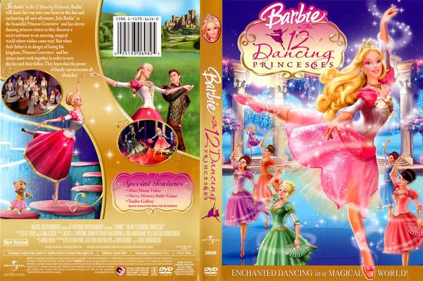 Barbie in the 12 dancing princesses dvd cover barbie and - Barbie 12 princesse ...