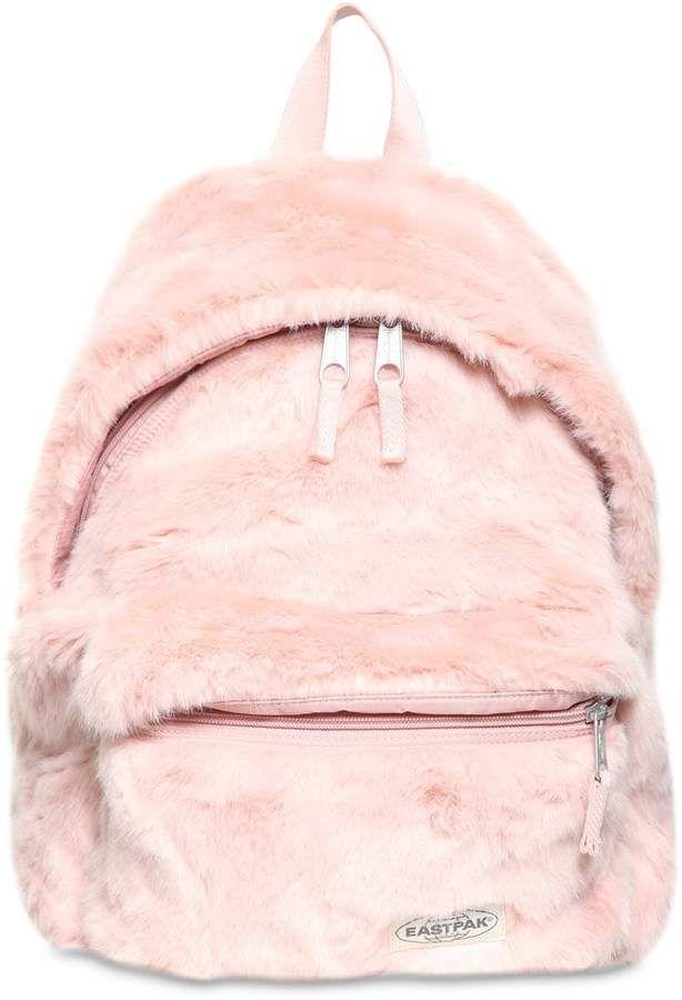 Eastpak 24l Padded Pak r Faux Fur Backpack  eb6096ddc9b