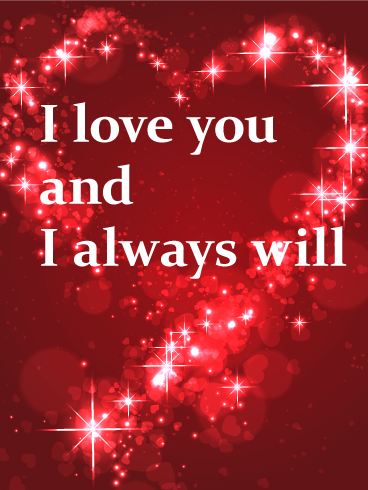 Love Cards Birthday Greeting Cards By Davia Free Ecards I Love You Pictures Good Night Love Images Love You Gif