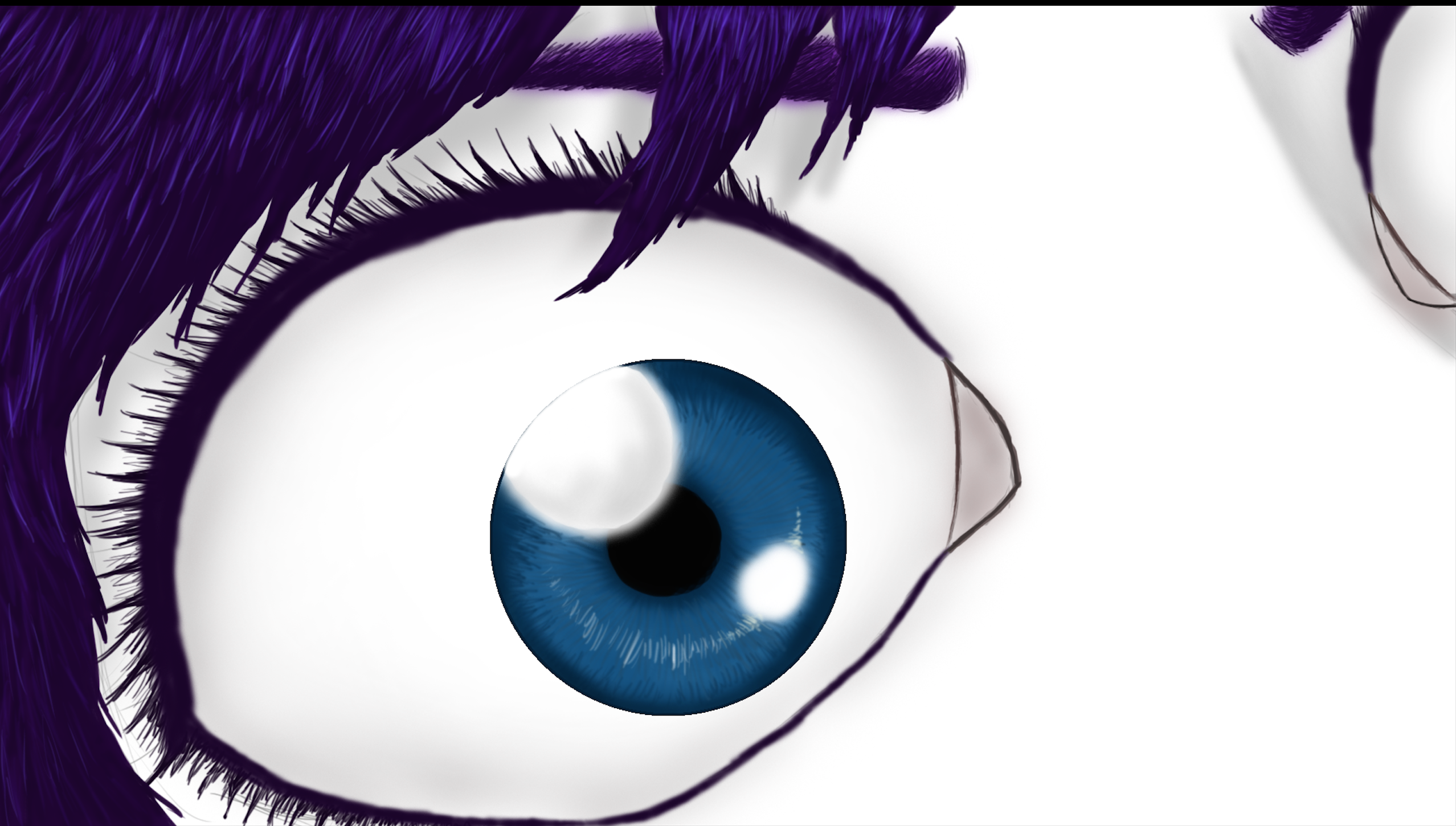 A dramatic eye shot made in photoshop by MrMarvellouss on DeviantArt
