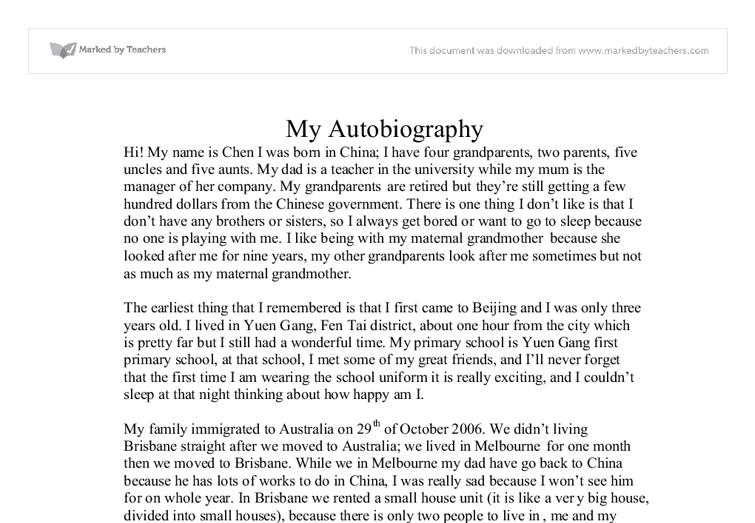 Autobiography how to write help me write film studies home work