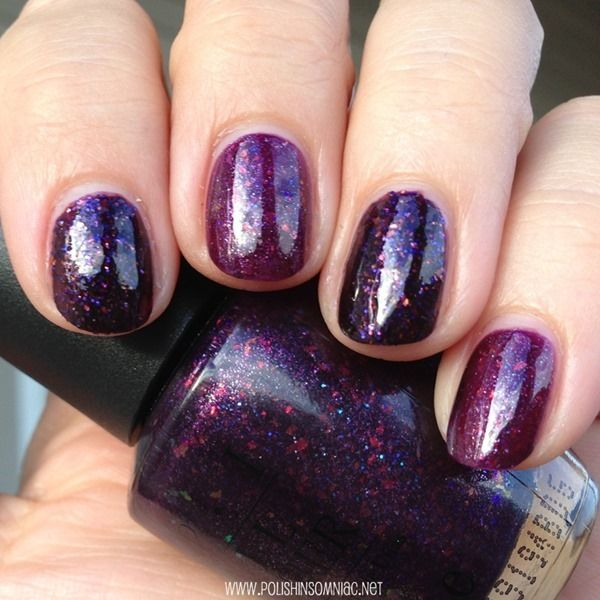 China Glaze Howl You Doin\' vs OPI Merry Midnight - Quick Comparison ...