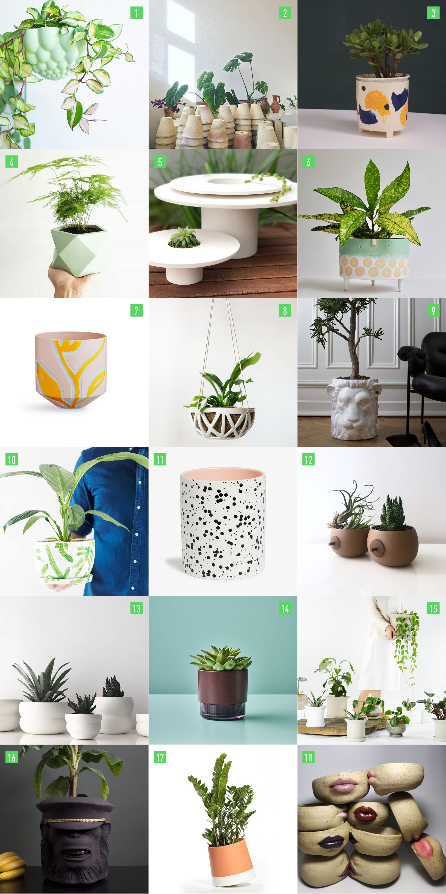 Cool Plant Pots Plant Pot Design Cool Plants Indoor Plant Pots