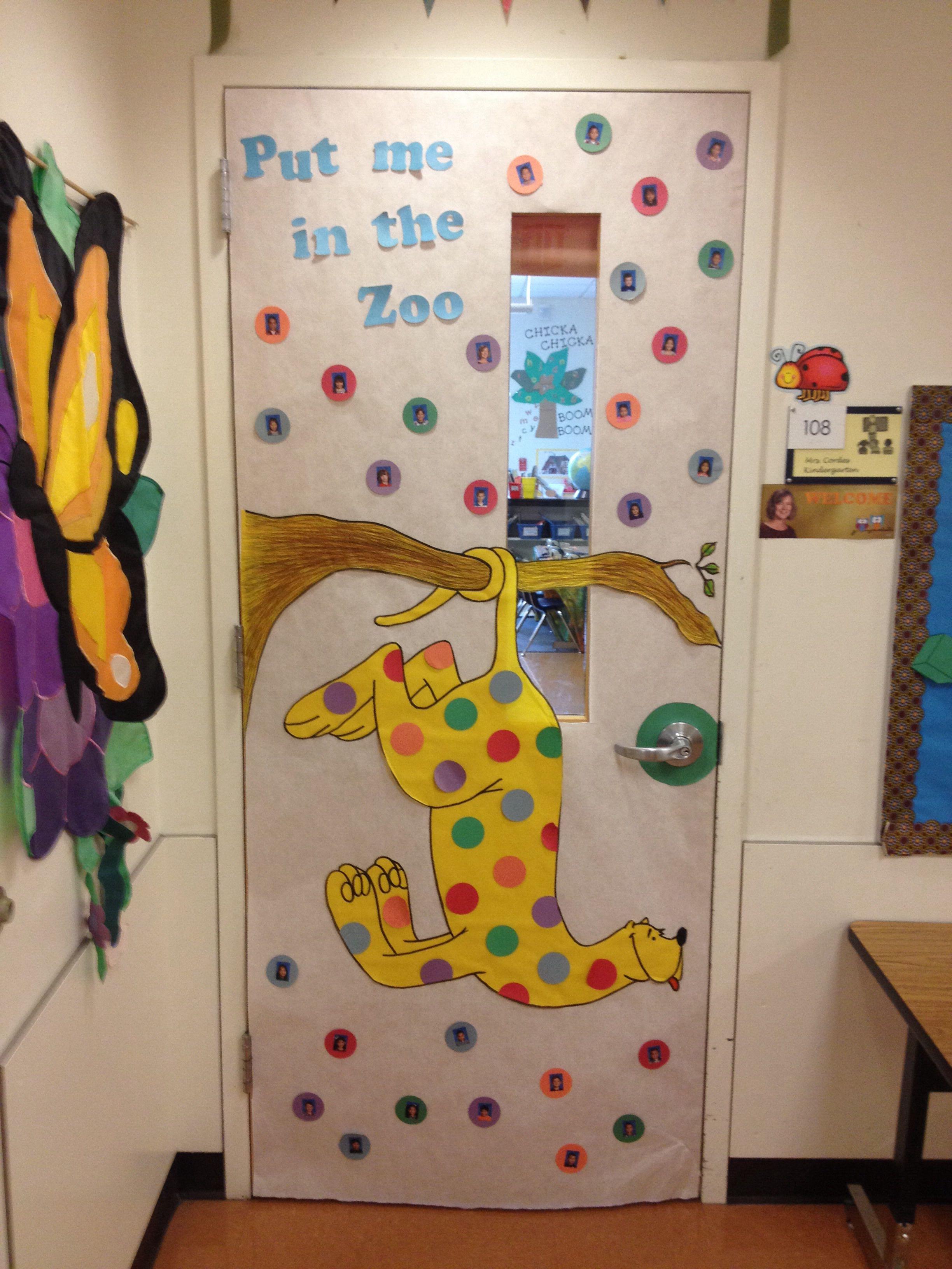 My Door Decoration For Read Across America Week