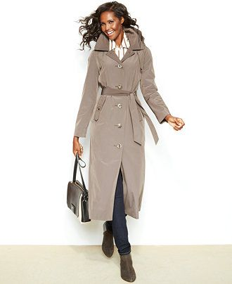 London Fog Belted Trench Coat - On MAJOR sale!! Extra 20% off! Use code GIFT #KatalinaGirl #blogger