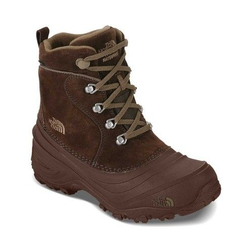 a117b0ab6 Children's The North Face Chilkat Lace II Boot - Demitasse Brown/Cub ...