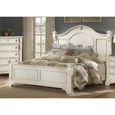 American Woodcrafters Heirloom Panel Customizable Bedroom Set Reviews Way Distressed White Bedroom Furniture Bedroom Furniture Sets White Bedroom Furniture
