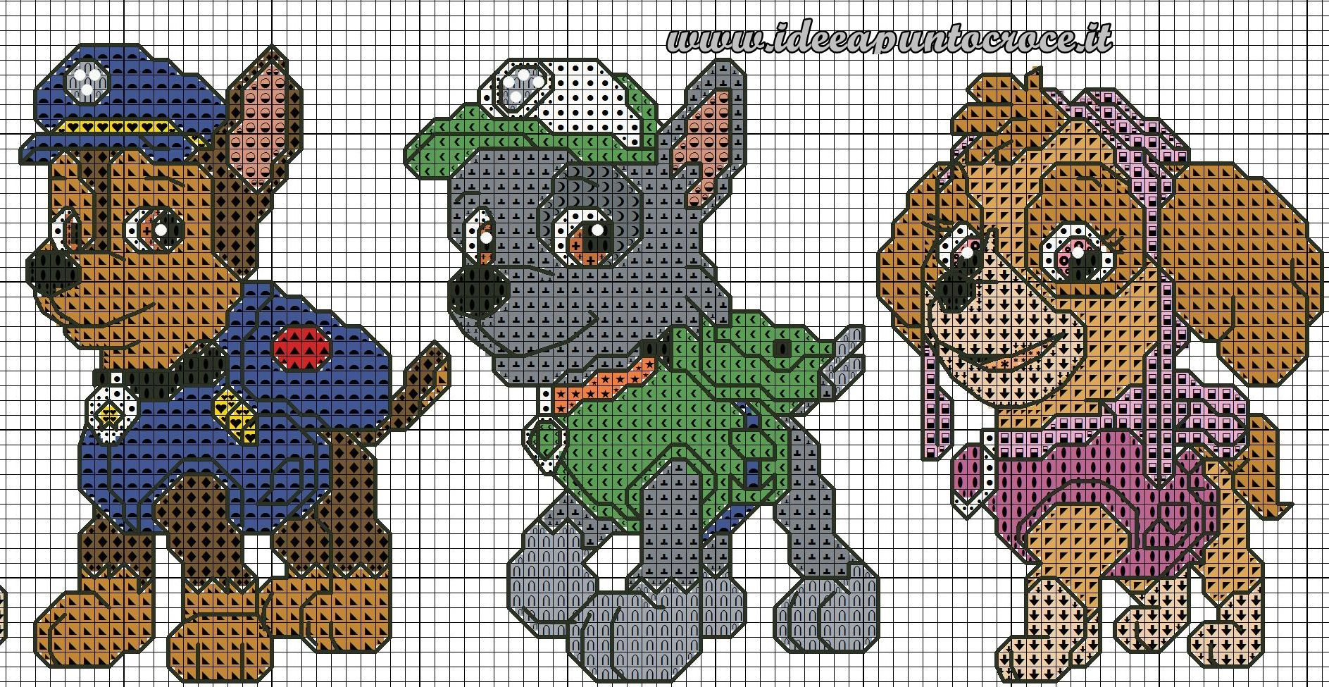 Crochet Patterns Paw Patrol : Pattern, Bead Patterns, Paw Patrol Graph, Paw Patrol Crochet Pattern ...