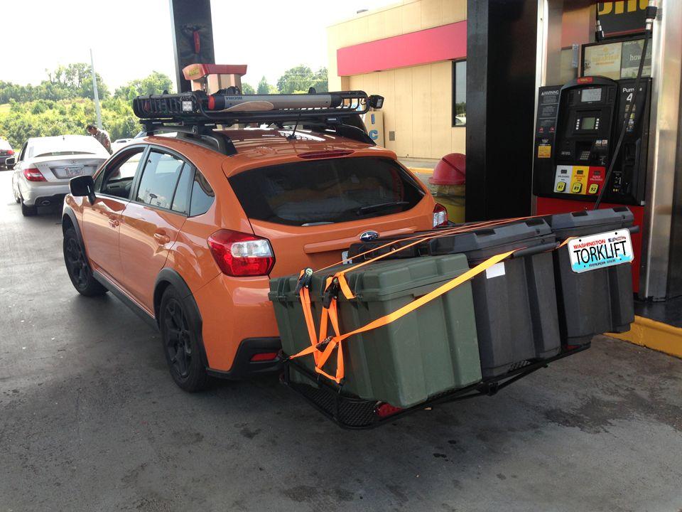 Hidden NoDrill EcoHitch for Subaru XV Crosstrek. Subaru