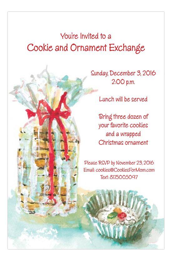 Cookies Cookies Cookies Invitation Odd Balls Invitations
