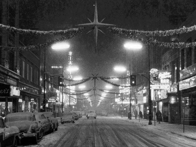 Downtown Louisville Ky December 1960 Historic Photos Of