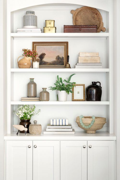 Our Stylist's Guide to Bookshelf Styling   Bria Hammel Interiors