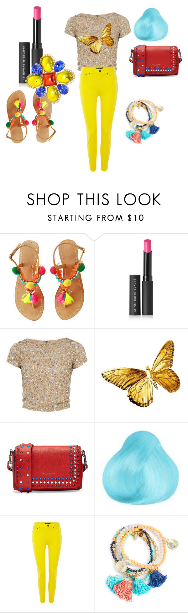 """""""Untitled #29"""" by ye-britman ❤ liked on Polyvore featuring interior, interiors, interior design, home, home decor, interior decorating, Le Métier de Beauté, Alice + Olivia, Marc Jacobs and Lauren Ralph Lauren"""