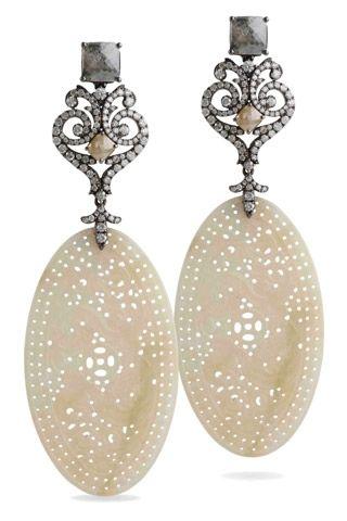 Vintage Lace Earrings by Bochic