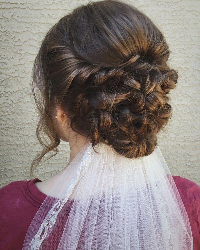 Long Wedding Hairstyles With Veil: Wedding Hairstyles For Long Hair With Veil